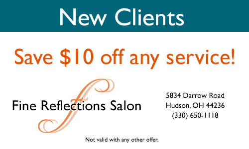 New Clients Save $10 off any service!
